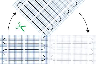 ratiodämm Elektro-Flächenheizung Verarbeitung: Ausmessen der Heizmatte 2