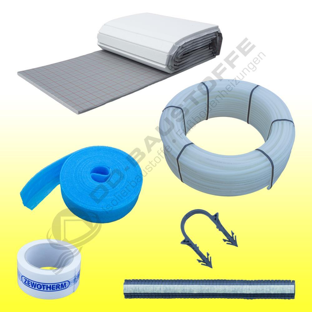 set angebote tackersystem fu bodenheizung warmwasser dd baustoffe webshop. Black Bedroom Furniture Sets. Home Design Ideas