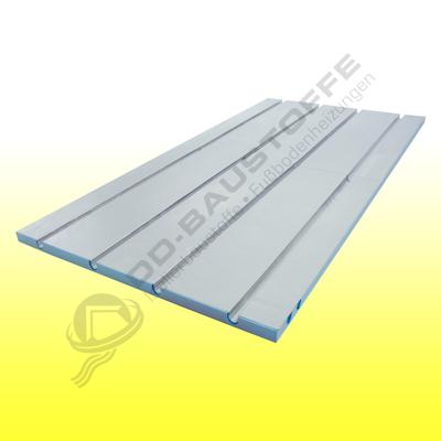 XPS 350 Fußbodenplatte 25 mm (für 16 mm Rohr)