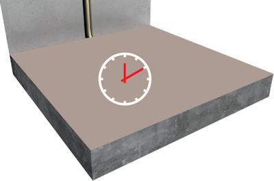 ratiodämm Elektro-Flächenheizung Verarbeitung: Verlegung mit Fliesenkleber (Option 2) 2