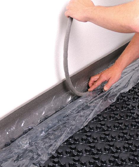 protec noppensystem fu bodenheizung mv rohr. Black Bedroom Furniture Sets. Home Design Ideas