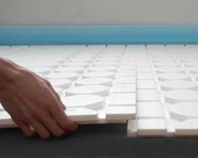 ratiodämm Fußbodenheizung Trockenbau Verarbeitung