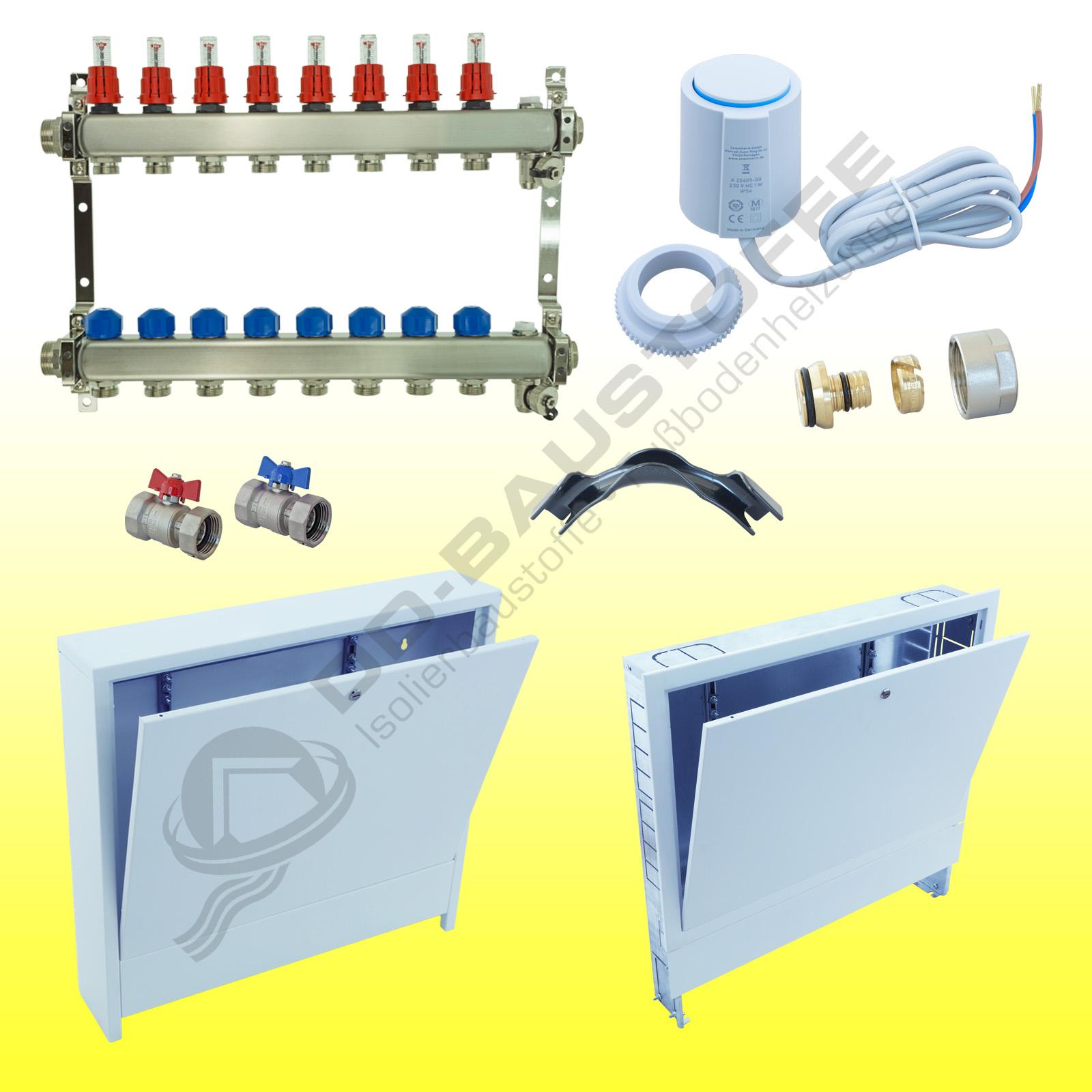 Häufig ratiodämm Verteiler-Set für Fußbodenheizung | DD-Baustoffe XC78